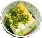 A bowl of tofu